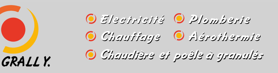 SARL GRALL Yvon - Electricité - Plomberie - Chauffage - Aérothermie